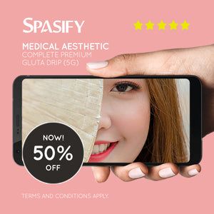 50% Off on Complete Premium Gluta Drip (5G) at Spasify Medical Aesthetic