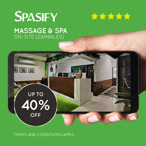 Up to 40% Off on Spasify Massage & Spa On-Site Members