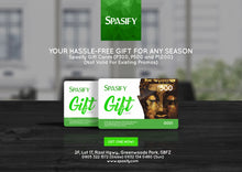 Load image into Gallery viewer, P500 Spasify Gift Card