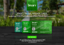 Load image into Gallery viewer, Spasify Ruby Prepaid Cards