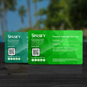 Spasify Diamond Prepaid Cards