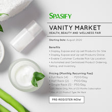 Load image into Gallery viewer, Vanity Market Event at Spasify CoWorking Space & Lounge (Subic Bay, SBFZ, Olongapo City)