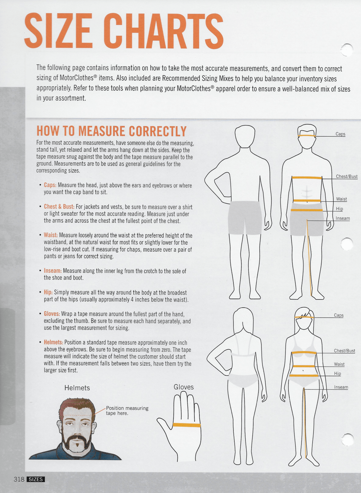 Harley-Davidson® Sizing Charts For MotorClothes on