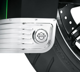 Bar & Shield Fender Skirt Medallions