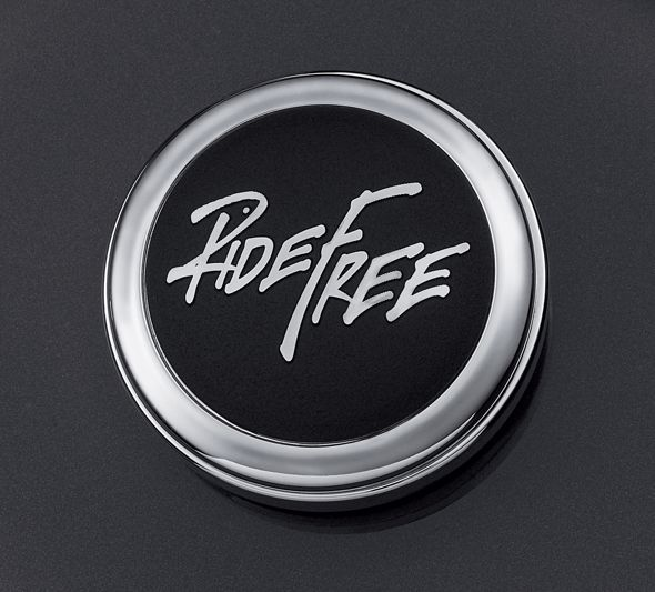 Ride Free Fuel Cap Medallion