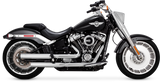 Vance & Hines Eliminator 300 Exhaust - Satin Chrome