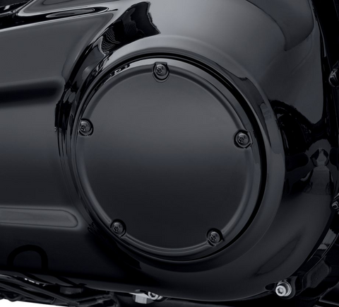 Gloss Black Narrow-Profile Derby Cover