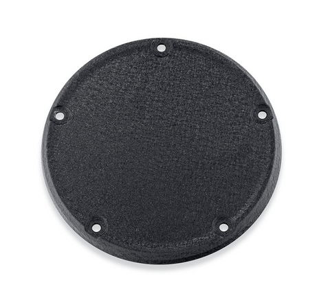 Wrinkle Black Narrow-Profile Derby Cover