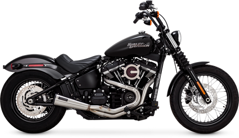 Vance & Hines Stainless Steel 2-Into-1 Upsweep Exhaust