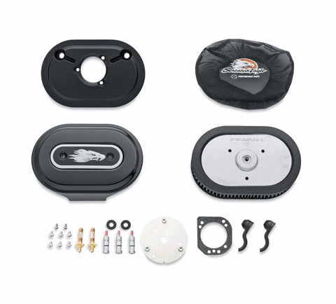 Screamin' Eagle Ventilator Performance Air Cleaner Kit - Gloss Black
