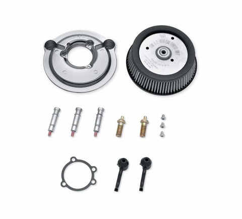 Screamin' Eagle Round Sportster Stage 1 Air Cleaner Kit - Chrome