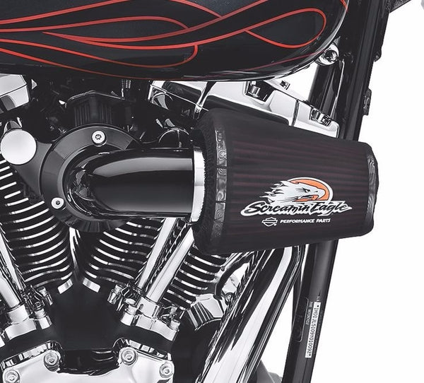Screamin' Eagle Heavy Breather Performance Air Cleaner Kit - Gloss Black