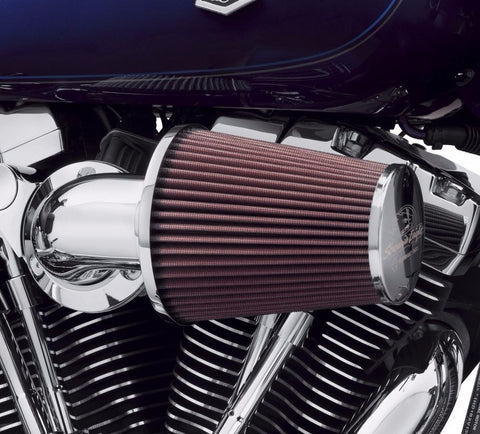 Screamin' Eagle Heavy Breather Performance Air Cleaner Kit - Chrome
