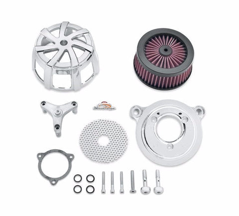 Screamin' Eagle Agitator Extreme Billet Air Cleaner Kit - Chrome