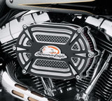 Screamin' Eagle Extreme Billet Ventilator Air Cleaner Kit - Black