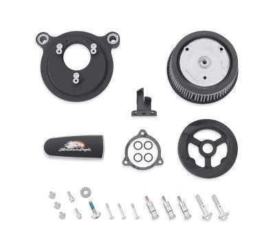Stage I Air Cleaner Kit - Twin Cam Models Black