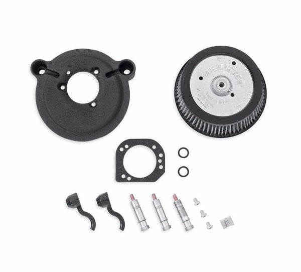 Screamin' Eagle High-Flow Air Cleaner Kit - Stage I - Twin Cam Models Black