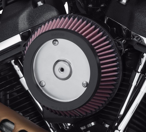 Screamin' Eagle High-Flow Air Cleaner - Round