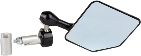 Driven Racing Halo Mirror Left Black