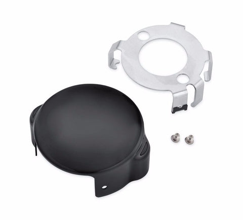 Starter Motor End Cover - Gloss Black