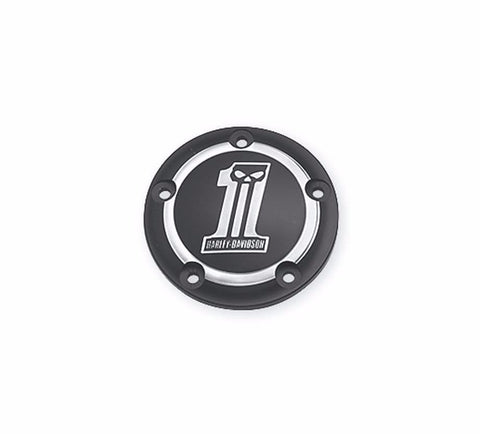 Dark Custom  Logo Collection Timer Cover Twin Cam