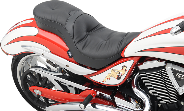 Drag Specialties Pillow Low Profile Touring Seat For Victory Jackpot