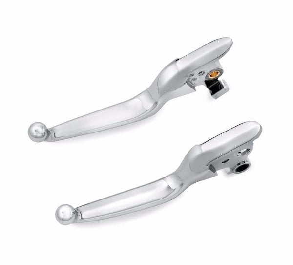 Chrome Hand Control Lever Kit Softail Models