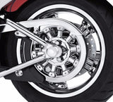 Magnum 5 Sprocket Cover - Chrome Softail