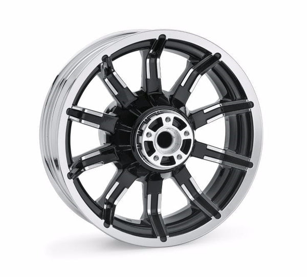 "Impeller Custom Wheels 16"" Rear Contrast Chrome"