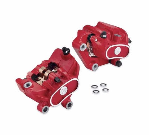 Brake Caliper Kit - Red Front & Rear Kit