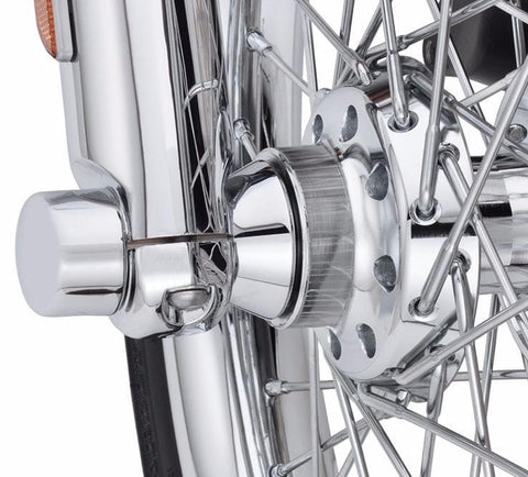Chrome Front Wheel Spacer Kit - Tapered '08 Later Touring