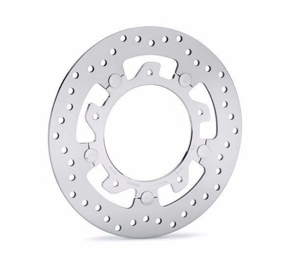 Aggressor Polished Floating Brake Rotor Front-Right