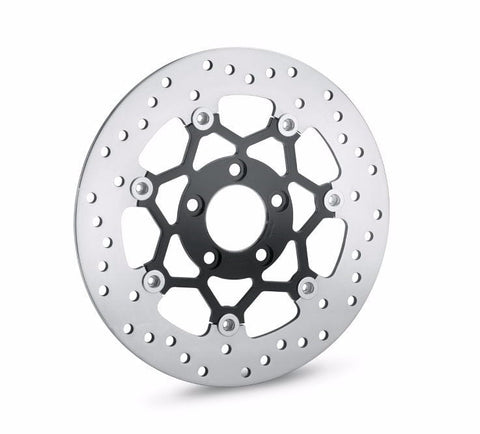 Floating Brake Rotors - Split 7 Spoke Rear Black