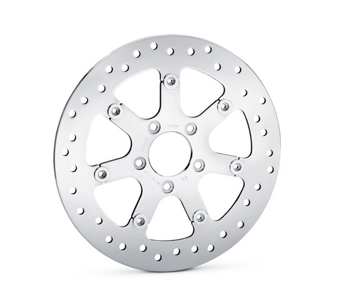 Turbine Polished Floating Brake Rotor
