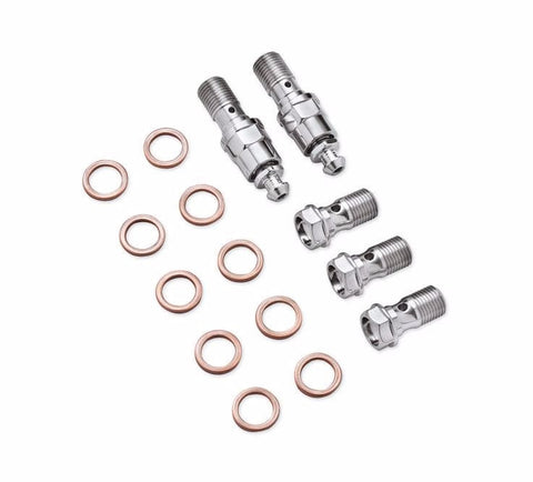 Chrome Caliper Hardware Kit