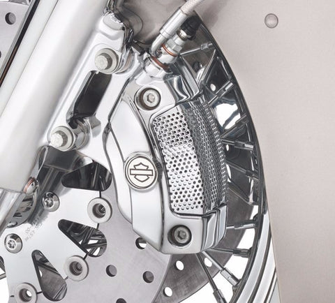 Chrome Brembo® Front Brake Caliper Kit