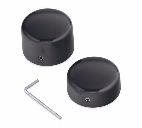 Rear Axle Nut Covers - Black