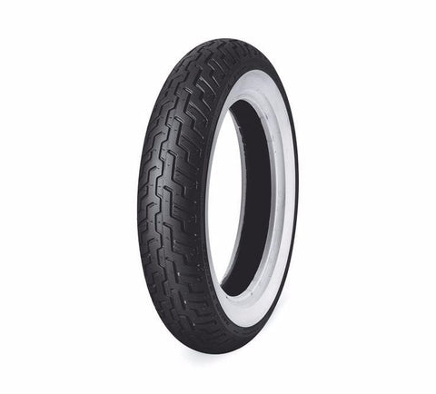 "Dunlop® Harley-Davidson® Tire Series - D402F MT90B16 Wide Whitewall - 16"" Front"