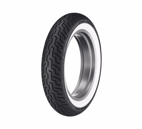 "Dunlop® Harley-Davidson® Tire Series - D402 MT90B16 Wide Whitewall - 16"" Rear"