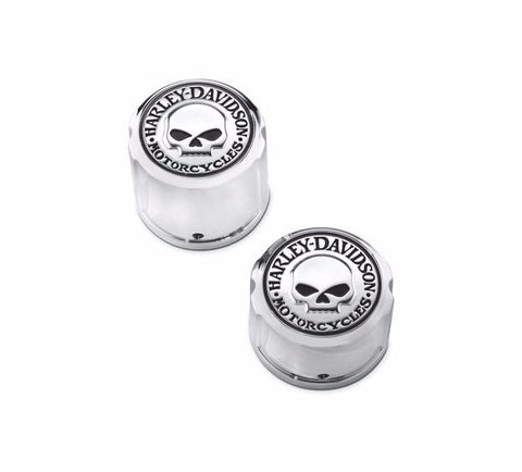 Willie G. Skull Collection Rear Axle Nut Cover Kit
