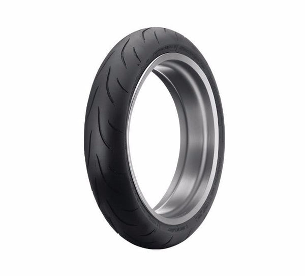 "Dunlop® Harley-Davidson® Tire Series - D209F RP 120/70ZR18 Blackwall - 18"" Front"