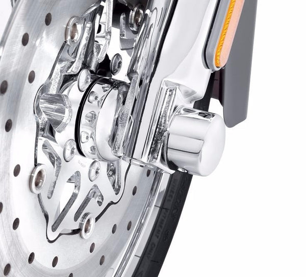 Chrome Front Wheel Spacer Kit - Domed FL Softail