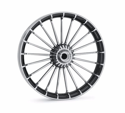 "Turbine Custom Wheels 21"" Front Contrast Chrome - Breakout"