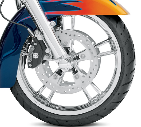 Mirror Chrome Enforcer 19 in. Front Wheel