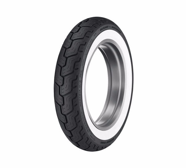 "Dunlop® Harley-Davidson® Tire Series - D402 MU85B16 Wide Whitewall - 16"" Rear"