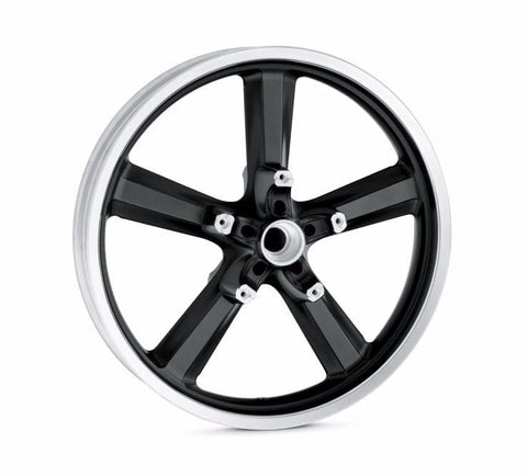 "5-Spoke Cast Aluminum Wheel - 19"" Front"