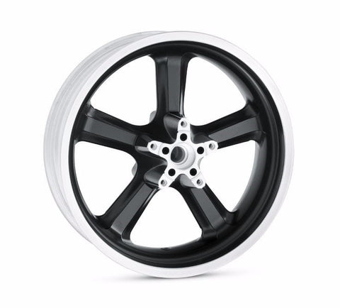 "5-Spoke Cast Aluminum Wheel - 18"" Back"