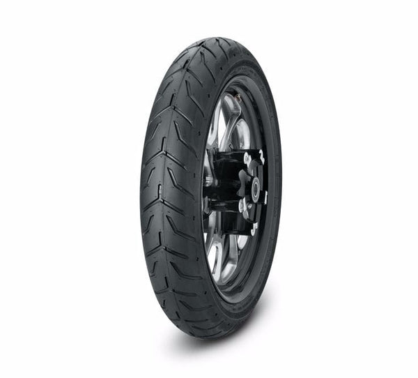 "Dunlop® Harley-Davidson® Tire Series - D408F 130/70B18 Blackwall - 18"" Front"