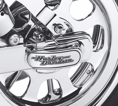 """Harley-Davidson®"" Script Rear Axle Cover Kit"