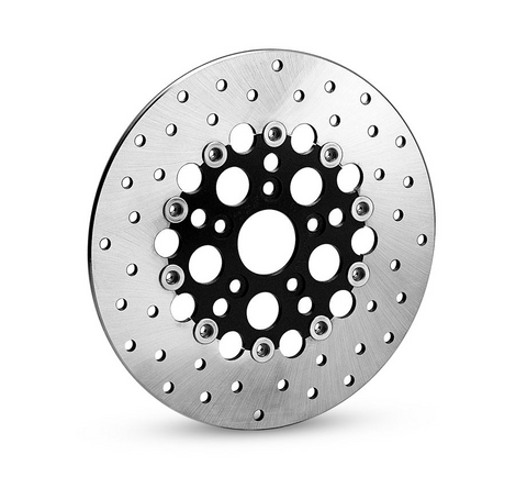 Vivid Black Floating Brake Rotor